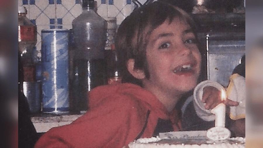 A menina Joana Cipriano, que tinha 8 anos quando desapareceu em 12 de setembro de 2004, na Figueira, em Portugal - Arquivo pessoal