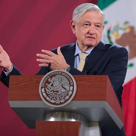 Arquivo - López Obrador garantiu que seus sintomas de covid-19 são leves e que se sente otimista - Hector Vivas/Getty Images