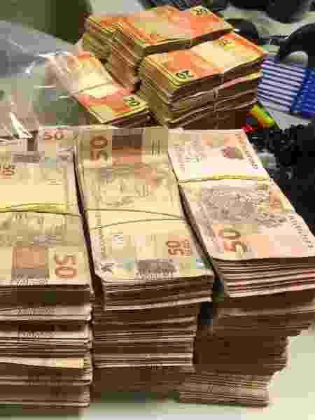 Polícia Federal estima em R$ 600 mil apreensão para provável compra de votos em Caucaia (CE) - Divulgação