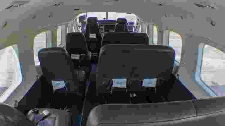 Avião tem capacidade para levar até nove passageiros - Alexandre Saconi/UOL - Alexandre Saconi/UOL