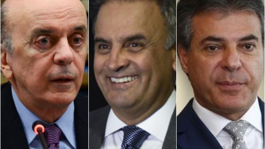 Lava Jato desmorona no momento em que os tucanos José Serra, Aécio Neves e Beto Richa eram os principais investigados - Divulgação