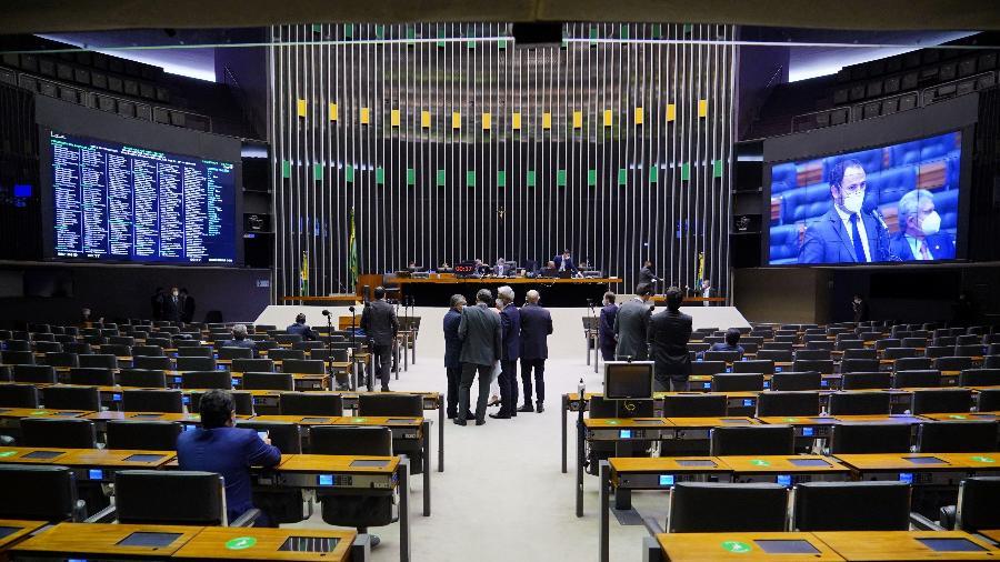 Discussão e votação de propostas no plenário da Câmara de Deputados - Pablo Valadares/Câmara dos Deputados