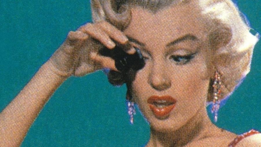 """A atriz americana Marilyn Monroe (1926-1962), no papel de Lorelei Lee, em cena do filme """"Os homens preferem as loiras"""", dirigido por Howard Hawks, de 1953 - Getty Images"""