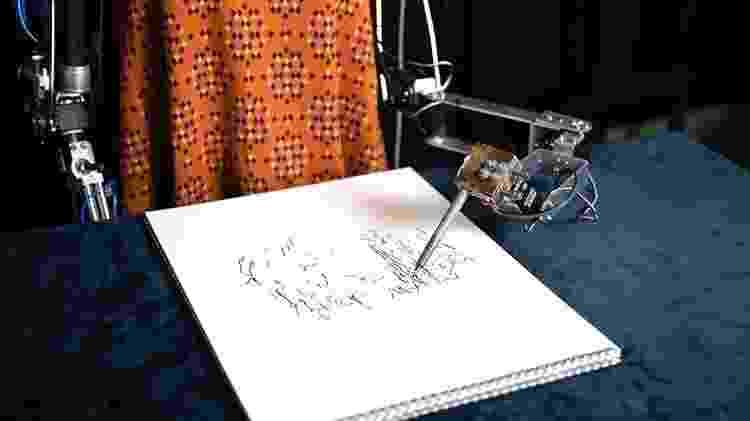 Detalhes dos braços robóticos - Divulgação - Divulgação