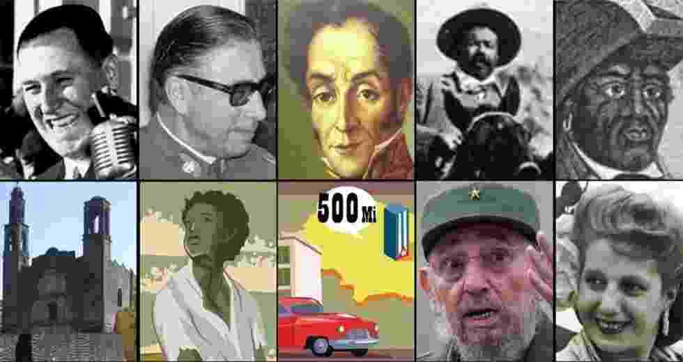 Conheça dez mitos da história latino-americana - Arte UOL