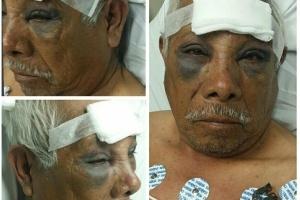 """""""Ele não merece ser assaltado, especialmente nessa idade"""", escreveu a nora de Martínez"""