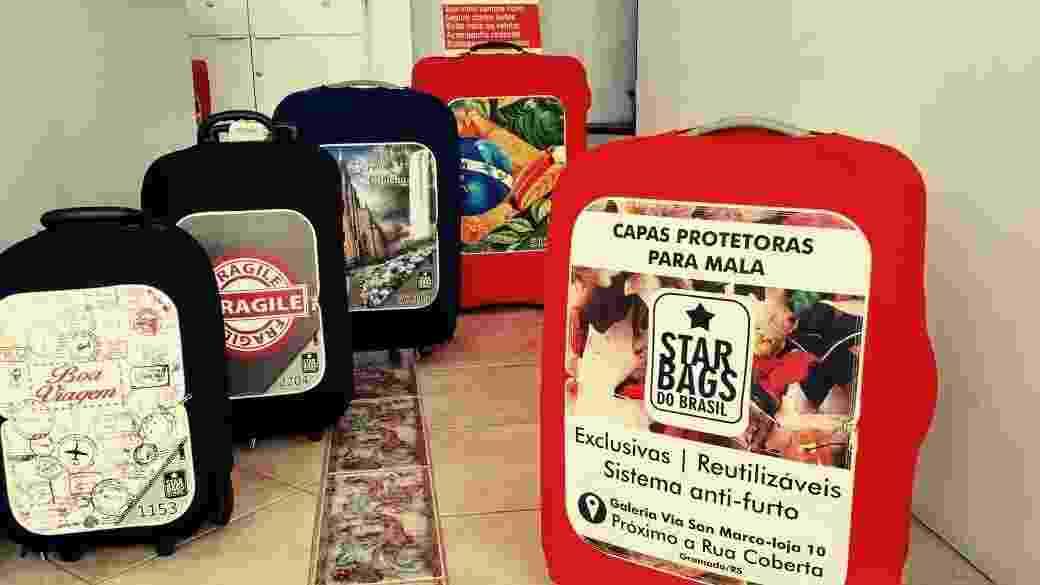 Star Bags do Brasil, empresa de capas para mala - Divulgação