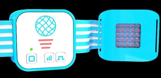 Dispositivo para emitir luz criado por Marcelo Sousa