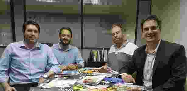 Os sócios da Localize, da esquerda para direita: Aldo Moscardini, Lucas Gouvêa, Flávio Goeldner e Marcelo Quintas - Divulgação