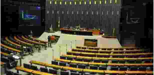 Plenário da Câmara vazio: mesmo sem público, deputados discursam para divulgar intervenções por outros meios - Agência Câmara - Agência Câmara