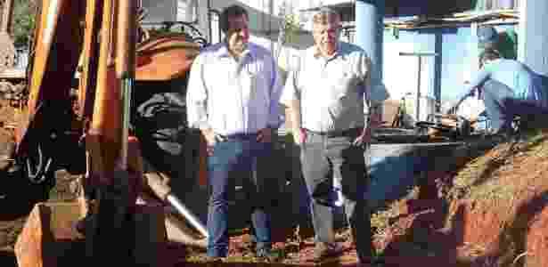 Foto original do prefeito de Leme (SP), Wagner Ricardo Antunes Filho, o Wagão (PSD) - Saecil/Divulgação - Saecil/Divulgação