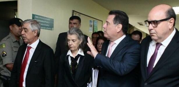 Cármen Lúcia e Marconi Perillo se reúnem para debater a crise prisional em GO