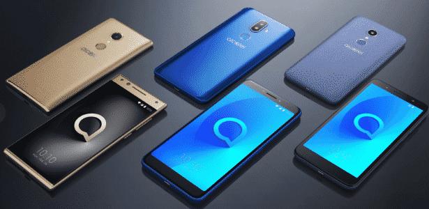 Nova linha de celulares: Alcatel 5, Alcatel 3v e Alcatel 1x - Reprodução/Engadget