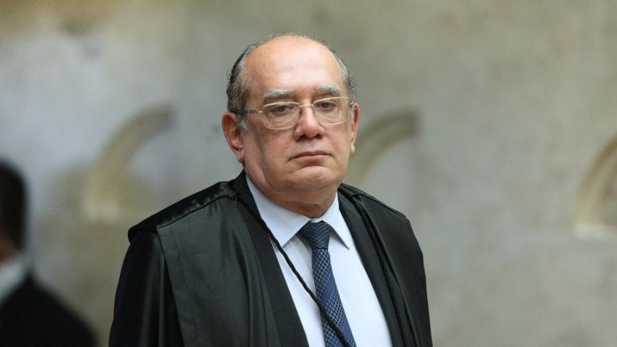 Gilmar Mendes em sessão desta no Supremo Tribunal Federal - Carlos Moura/STF