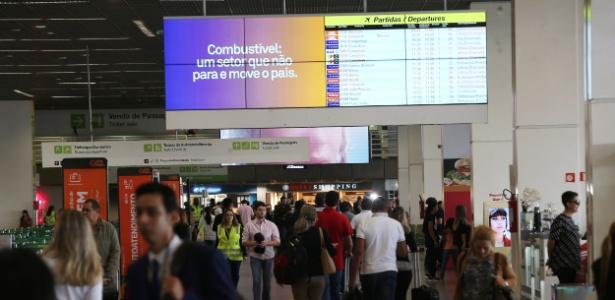 Aeroportos terão ainda mais procura com aproximação do feriado de Corpus Christi - André Dusek/Estadão Conteúdo