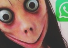 Momo, perfil sinistro do WhatsApp, na verdade pode roubar seus dados (Foto: Reprodução/Instagram @stortomanontroppo)