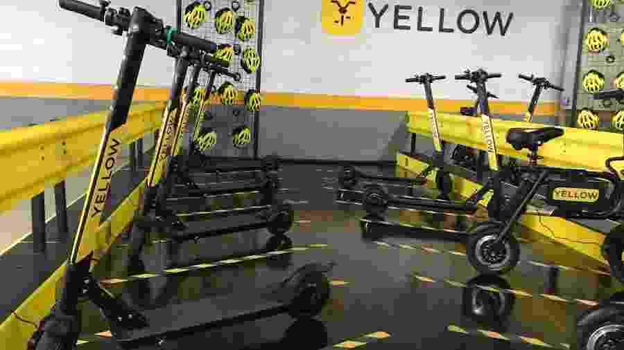 Patinetes da Yellow - Divulgação