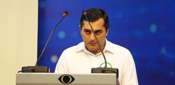 12.Set.2018 - Wilson Lima (PSC) participa de debate na TV