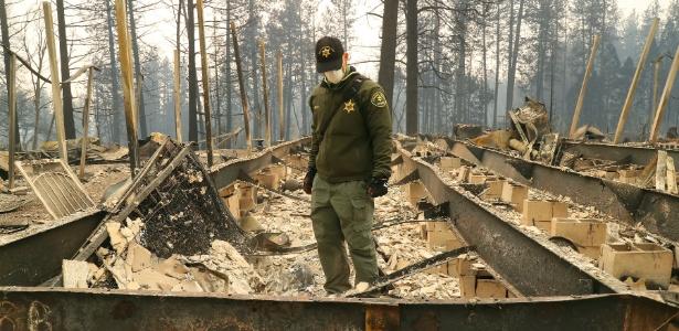 Incêndio Camp Fire Califórnia