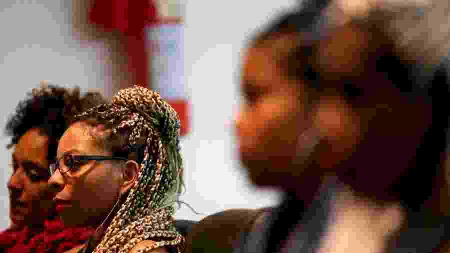 27.jul.2016 - Mulheres negras na 9ª edição do Festival Latinidades, em Brasília - Wilson Dias/Agência Brasil