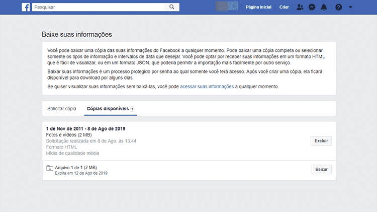 Regate de fotos do Facebook 5 - Facebook/Reprodução - Facebook/Reprodução