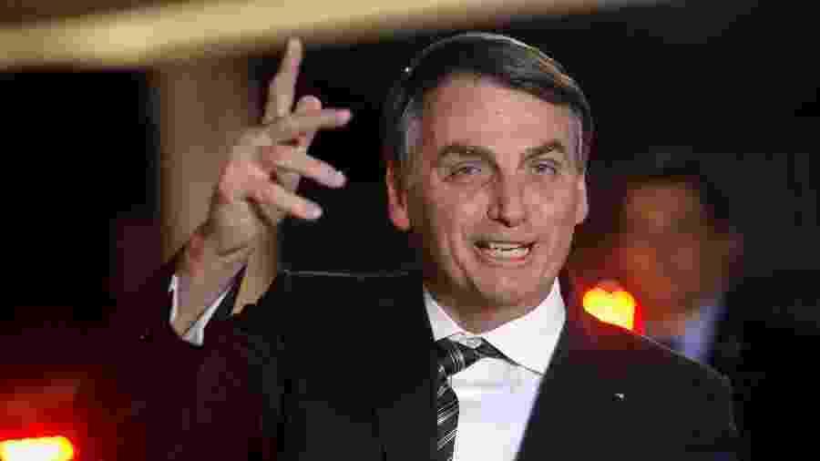O presidente Jair Bolsonaro, no Palácio do Alvorada - Adriano Machado/Reuters
