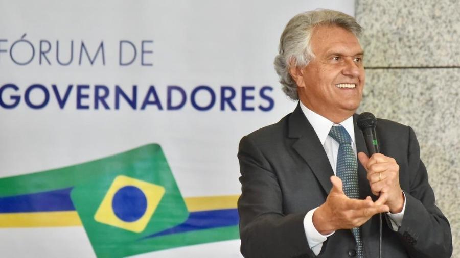O governador de Goiás, Ronaldo Caiado (DEM) - Divulgação/Twitter Ronaldo Caiado