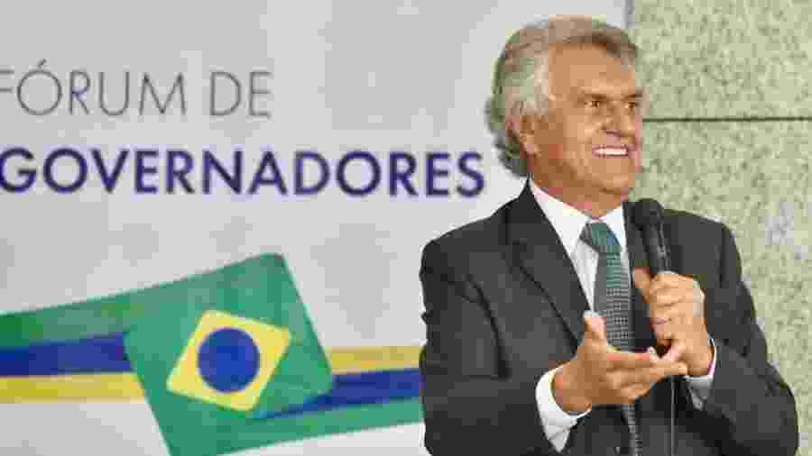 Ronaldo Caiado (DEM) sancionou projeto de lei - Divulgação/Twitter Ronaldo Caiado