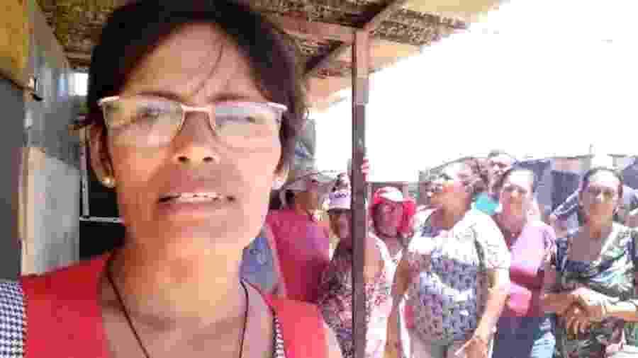 Líderes sem-teto acusam polícia de truculência em ocupação em Maceió - Reprodução