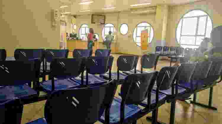 Pronto Socorro adulto no Hospital Geral do Grajaú estava vazio às 11h desta terça (17) - Cleber Souza/UOL - Cleber Souza/UOL