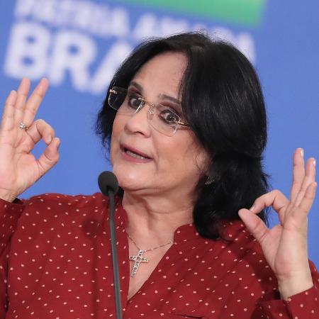 A pastora Damares Alves está à frente do Ministério da Mulher, da Família e dos Direitos Humanos - Gabriela Biló/Estadão Conteúdo