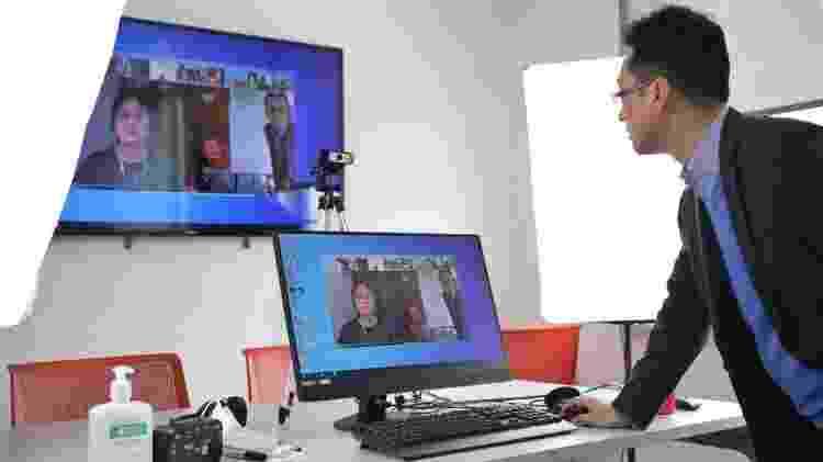 Serviço de teleconferência na China - Getty Images - Getty Images