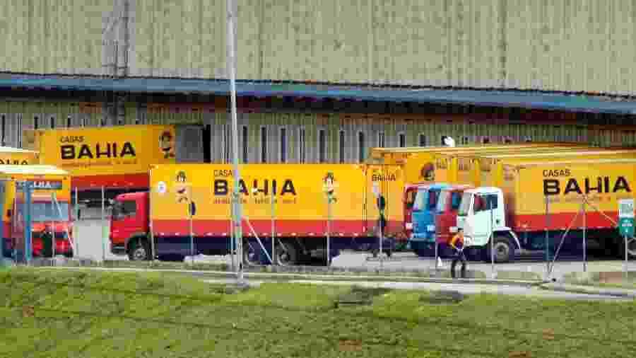 Centro de distribuição das Casas Bahia, da Via Varejo, em Jundiaí (SP); divulgação de dados após postagem no Twitter - Paulo Whitaker