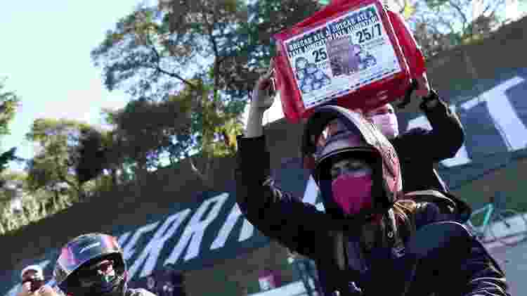 Entregadores voltaram a realizar protestos pelo Brasil no fim de semana - Estadão Conteúdo - Estadão Conteúdo