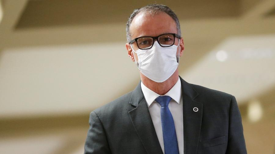 11.mai.2021 - Antonio Barra Torres, diretor-presidente da Anvisa, prestou depoimento hoje, na CPI da Covid - REUTERS