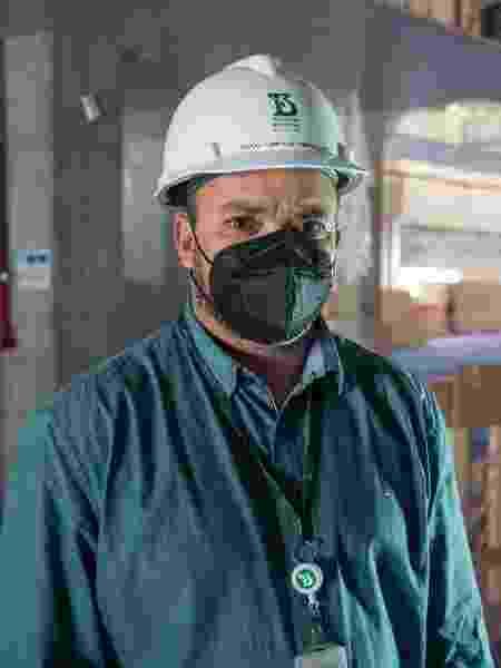 Clayton Ribeiro Sobrinho, gerente de obras e projetos do Butantan -  Andre Porto/UOL -  Andre Porto/UOL
