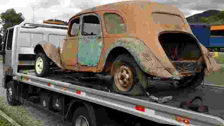 Traction Avant restaura 4 - Arquivo pessoal / Vintage Garage - Arquivo pessoal / Vintage Garage