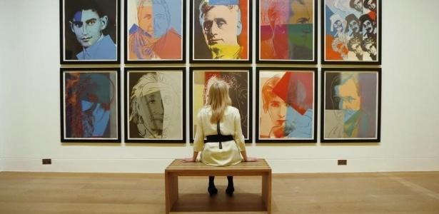 """A obra """"Dez Retratos de judeus do século 20"""", de 1980, e as serigrafias da série """"Espécies em Perigo"""", de 1983, têm valor estimado em US$ 350 mil - Por Alex Dobuzinskis"""