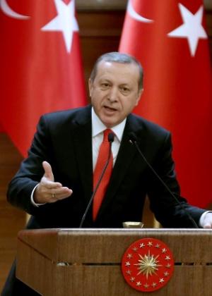Erdogan, presidente da Turquia