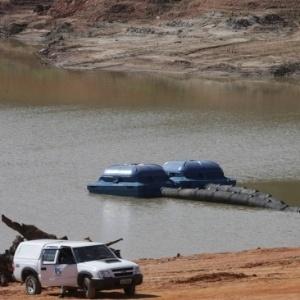 Bombas foram instaladas em 2014 na represa Jaguari-Jacareí para captação do volume morto - Nilton Fukuda/Estadão Conteúdo