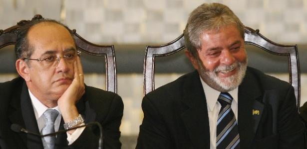 Lula reclama que Mendes encerrou os mandados de segurança sem submetê-los ao plenário