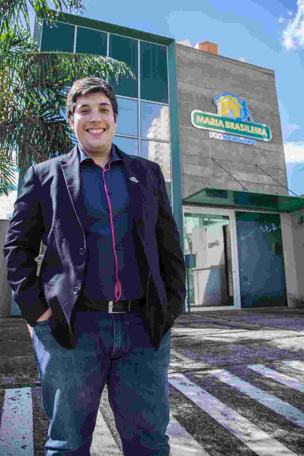 Eduardo Pirré, fundador da franquia de serviços domésticos Maria Brasileira - Divulgação