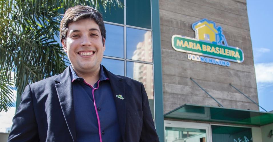 Eduardo Pirré, fundador da franquia de serviços domésticos Maria Brasileira