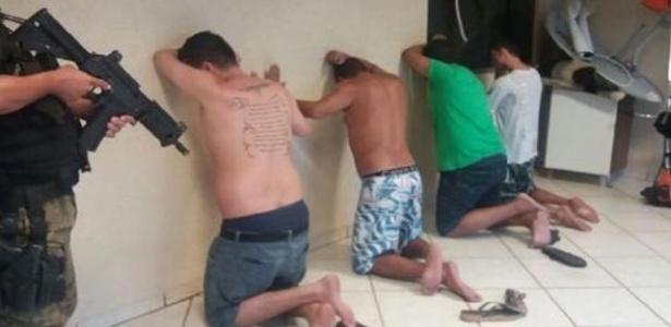 Integrantes da quadrilha gaúcha Anti-Bala são detidos no Paraguai, em 2016 - Senad (Secretaria Nacional de Drogas) e Polícia do Paraguai