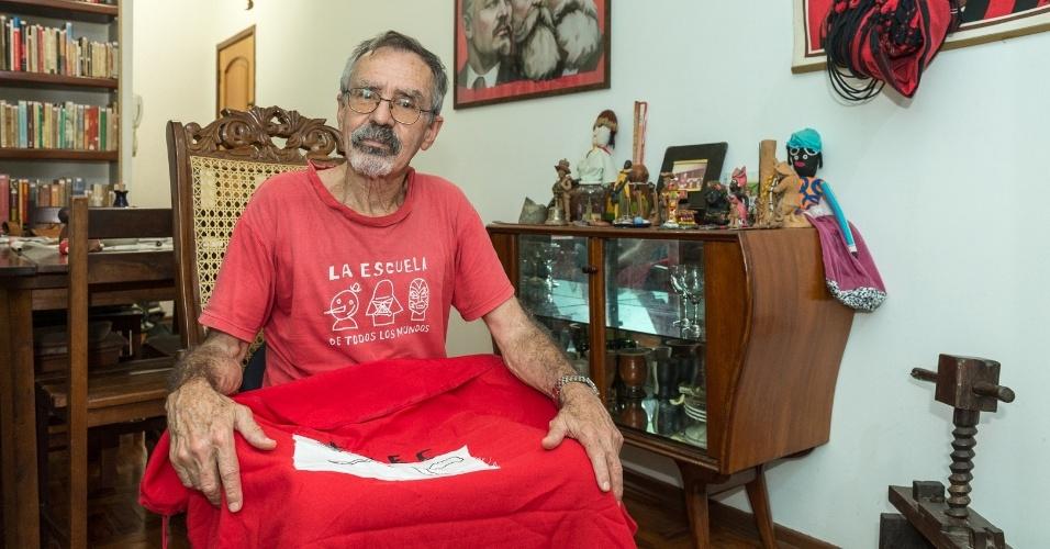 """Sardinha, autor do livro """"Calabouço"""", diz acreditar na força do movimento secundarista para mobilizar estudantes hoje"""