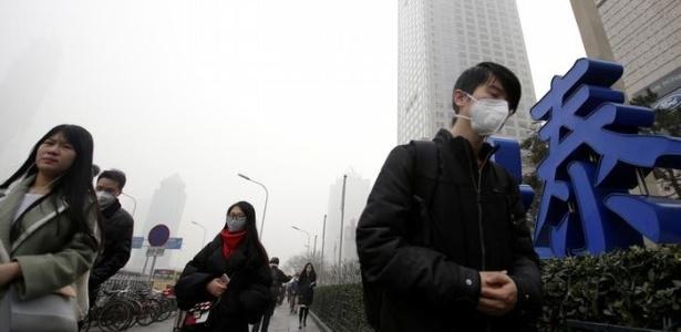 Poluição na China faz disparar demanda por ar engarrafado