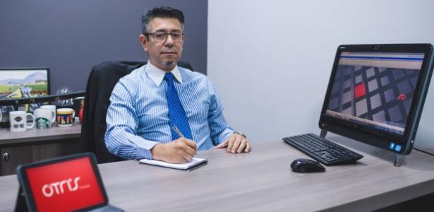 Caio Katayama, fundador da Ótris, franquia de empresa de cobrança
