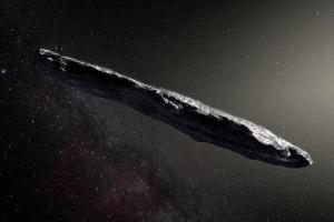 Astrônomos monitoram estranho asteroide em forma de charuto que cruzou Sistema Solar (Foto: ESO/M. Kornmesser)