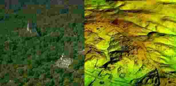 A cidade maia de Tikal estava rodeada de uma complexa rede de vias até então invisíveis - Wild Blue Media/Channel 4/National Geographic