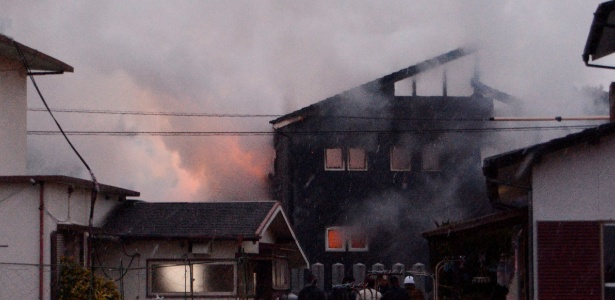 Resultado de imagem para Helicóptero militar cai em área residencial no sul do Japão